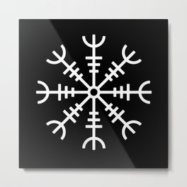 Aegishjalmur v2 Metal Print
