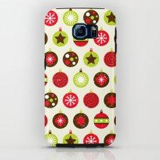 Christmas Baubles Tough Case Galaxy S6