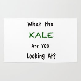 What the KALE are you Looking At? Rug