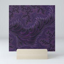 Fractal Art-Purple Slinky Mini Art Print