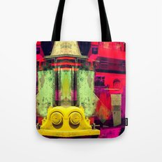 Industrial Abstract Twins Tote Bag