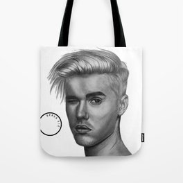 Graphite Justin Tote Bag