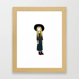 Zoe  Framed Art Print