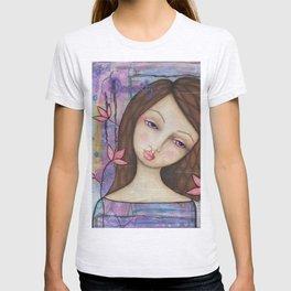 Serenity, Mixed Media Artwork T-shirt