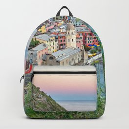 Cinque Terre, Italy Backpack