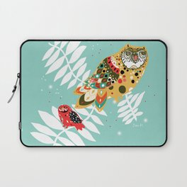 Telepathy in Forest Laptop Sleeve