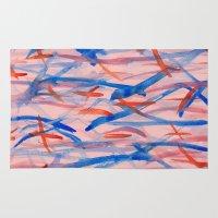 swim Area & Throw Rugs featuring Swim by Sandra Arduini