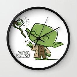 Yoda Selfie Wall Clock