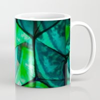 third eye Mugs featuring Third Eye by Lotus Effects