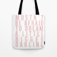 inception Tote Bags featuring Inception by lastminutebinge