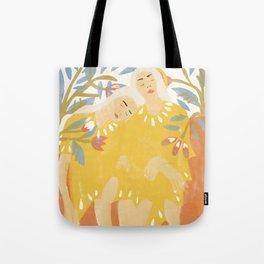 Botanical Girls Tote Bag