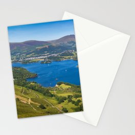 Lake Derwentwater in the English Lake District Stationery Cards