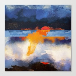 Dusk Reflection Canvas Print