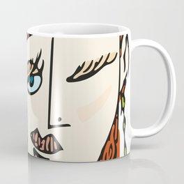 Winking Madam Coffee Mug