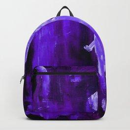 Guardian Angel - Dark Purple Backpack