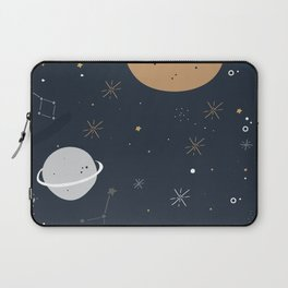 The Moon and the Stars Laptop Sleeve