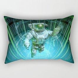 Diving The Data Core Rectangular Pillow
