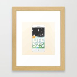Charge Your Life Framed Art Print
