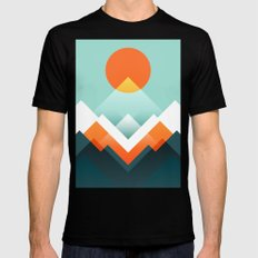 Everest Mens Fitted Tee Black LARGE