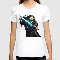 thorin T-shirts featuring Thorin in Blue by wolfanita