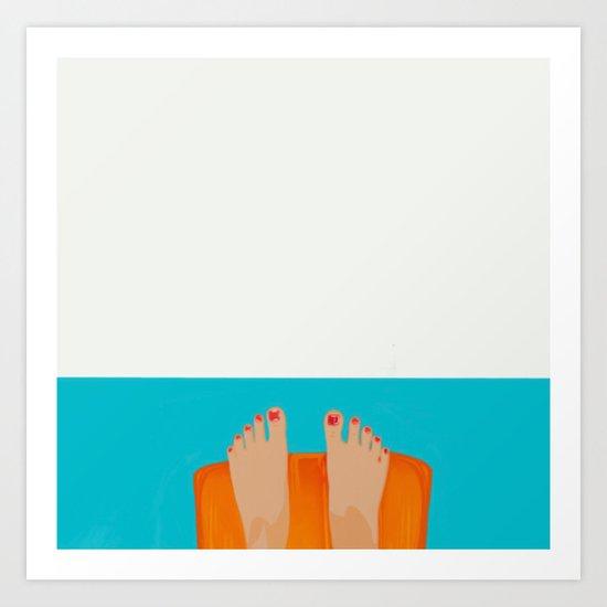 I´m fine Art Print