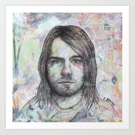 Kurt - Even In His Youth Art Print