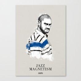 Kase.O Jazz Magnetism Canvas Print