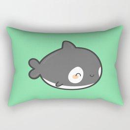 Cute killer whale Rectangular Pillow