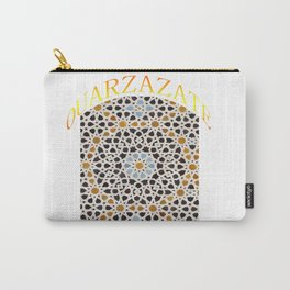Morrocan culture ouarzazate city Carry-All Pouch