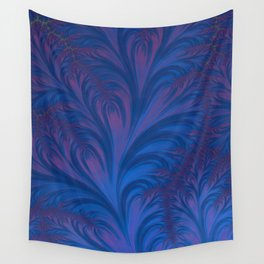 Stacking Hearts - Fractal Art Wall Tapestry