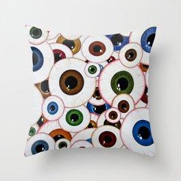 All Eyes On Me Throw Pillow