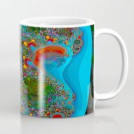 Abstract Topography Coffee Mug