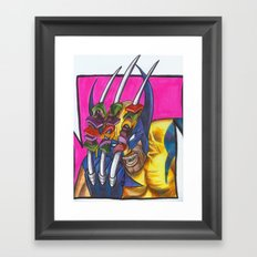 Shish KaBUB Framed Art Print