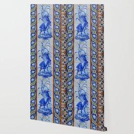 Goat Vintage Mosaic Tiles Wallpaper
