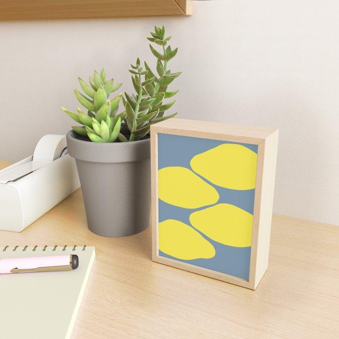 Lemons Framed Mini Art Print