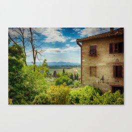 San Gimignano, Tuscany, Italy Canvas Print