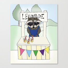 Lemonade seller Canvas Print
