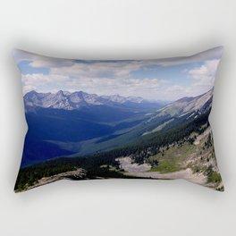 Cascade mountain Rectangular Pillow