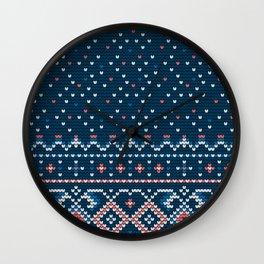 Pattern in Grandma Style #58 Wall Clock