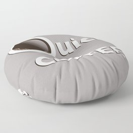 Quick Coffee? Floor Pillow