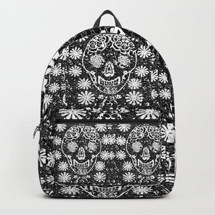 Tribal Sugar Skull Backpack