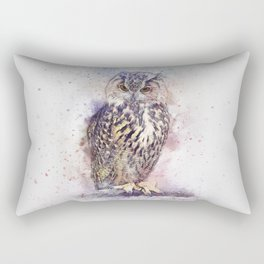 Bird Owl Animal Rectangular Pillow