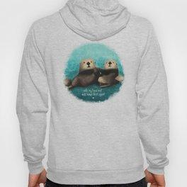 Sea Otters in Love Hoody