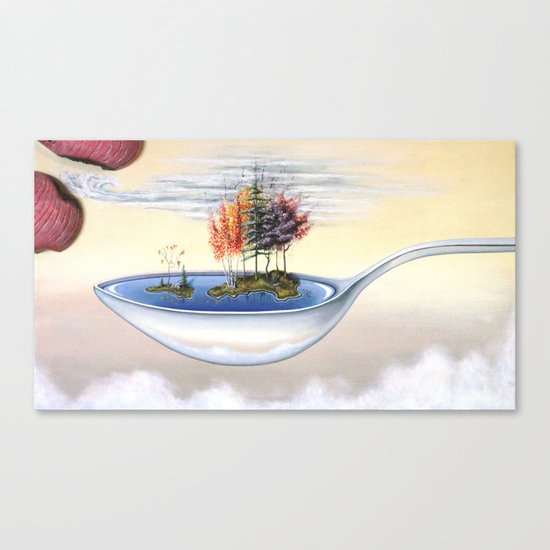 """""""Cough Syrup"""" Canvas Print"""