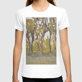 Trees in Shade Painting T-shirt