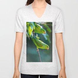 Parakeet Unisex V-Neck