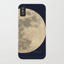 CHRISTMAS EVE MOON iPhone Case
