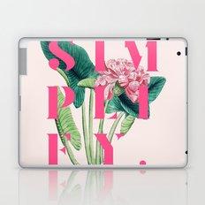 Simplify. #society6 #decor #buyart Laptop & iPad Skin