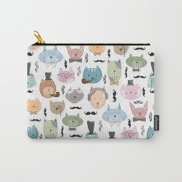 Aristocats Seamless Pattern Carry-All Pouch