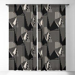 Scandinavian Bold Blackout Curtain